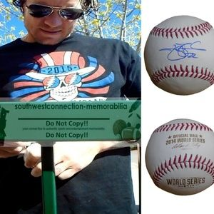 Jake Peavy SF Giants Signed 2014 World Series Ball